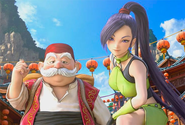 Игра Dragon Quest XI