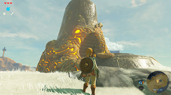 Игра Zelda: Breath of the Wind