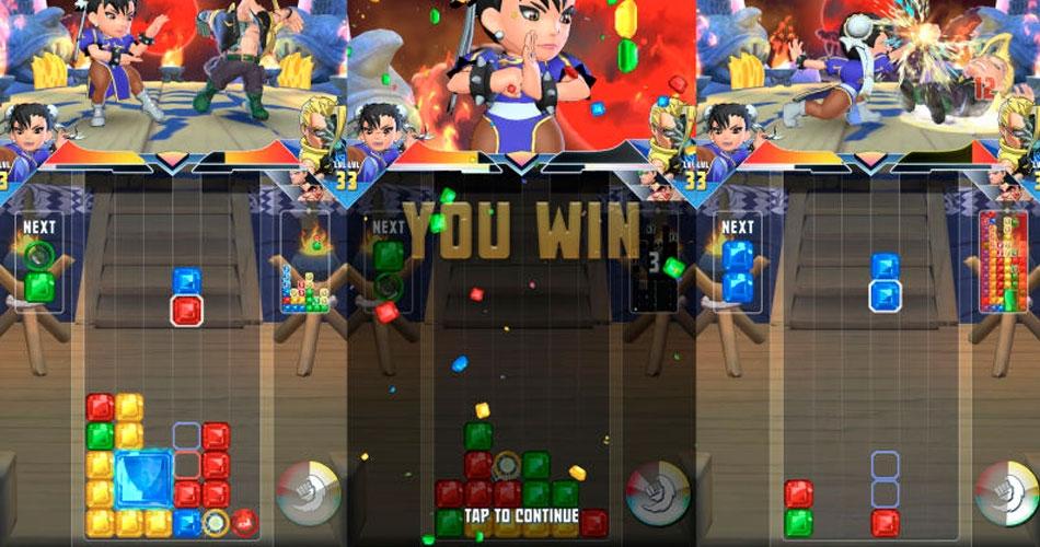 Мобильная игра Puzzle Fighter от Capcom доступна в условно бесплатном формате