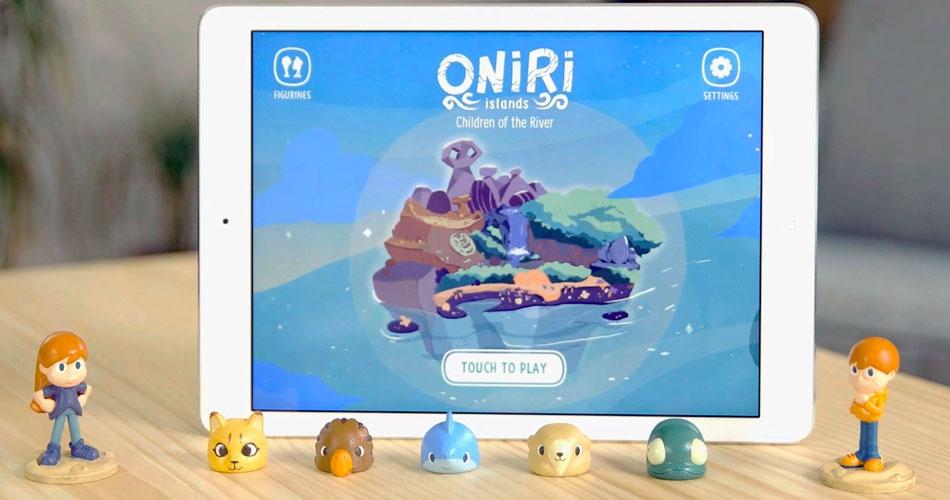 Кооператив Oniri Islands пропонує досліджувати острова Онирі за допомогою розумних фігурок героїв
