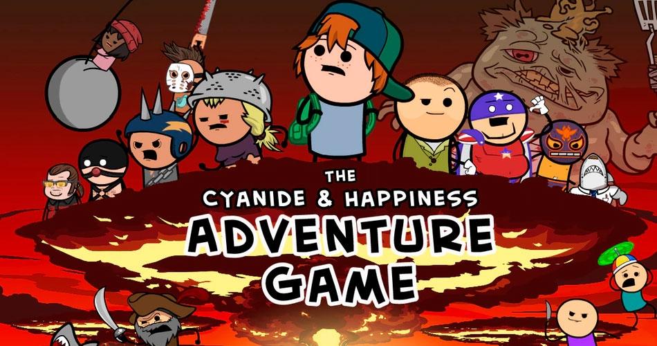 Игра The Cyanide & Happiness Adventure Game переносит в мир легендарных скетчей