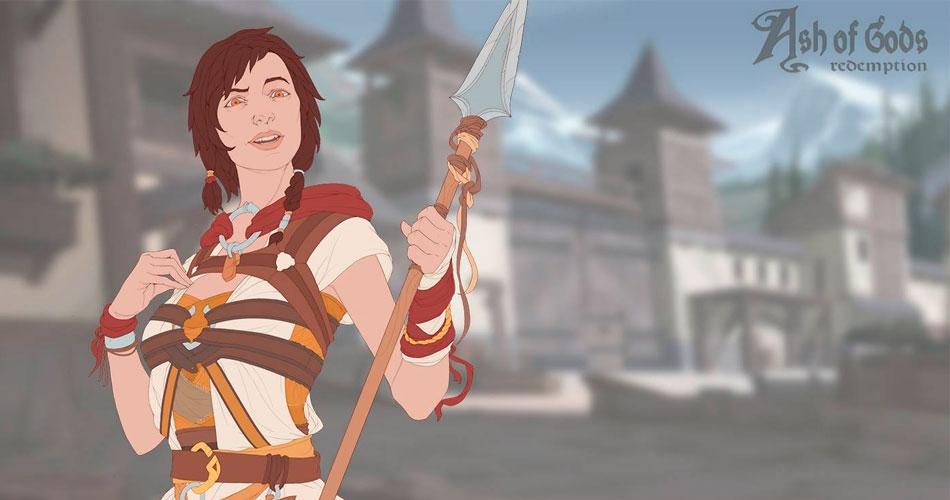Гра Ash of Gods в жанрі RPG стала предметом кампанії на Kickstarter