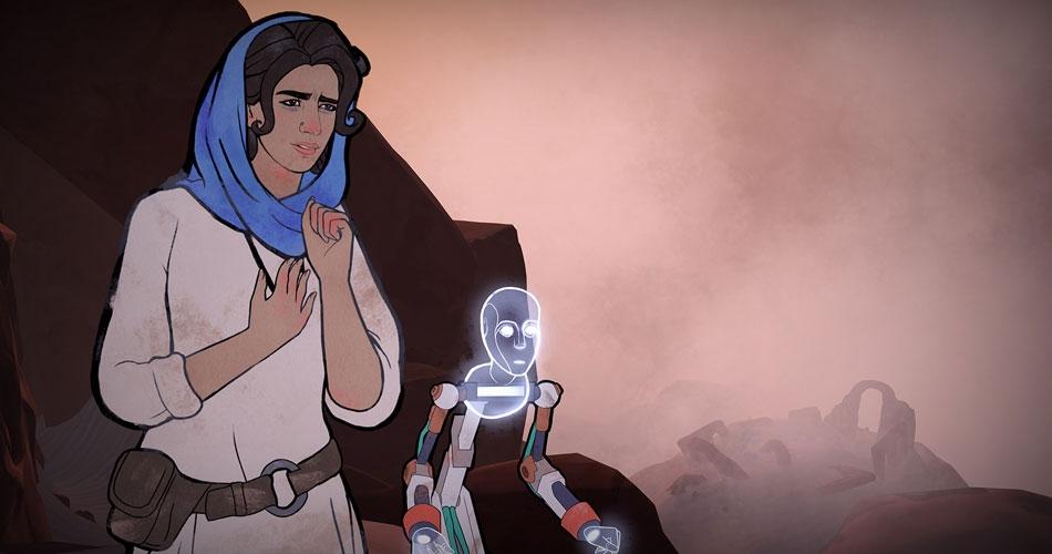 Анонс игры Heaven's Vault в приключенческом жанре от создателей 80 Days